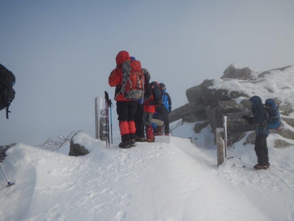 金峰山 冬