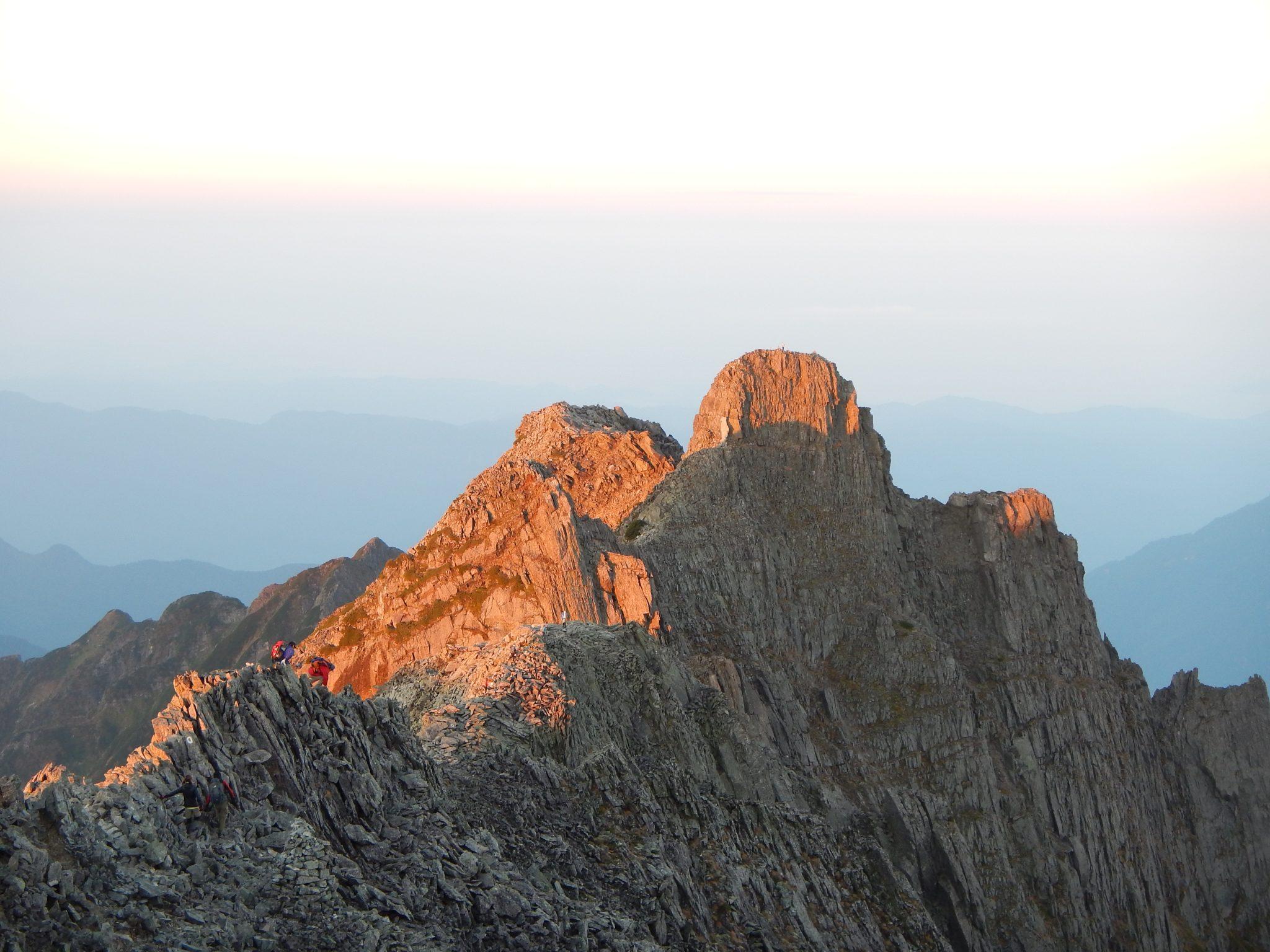 西穂高岳からジャンダルム縦走3日間