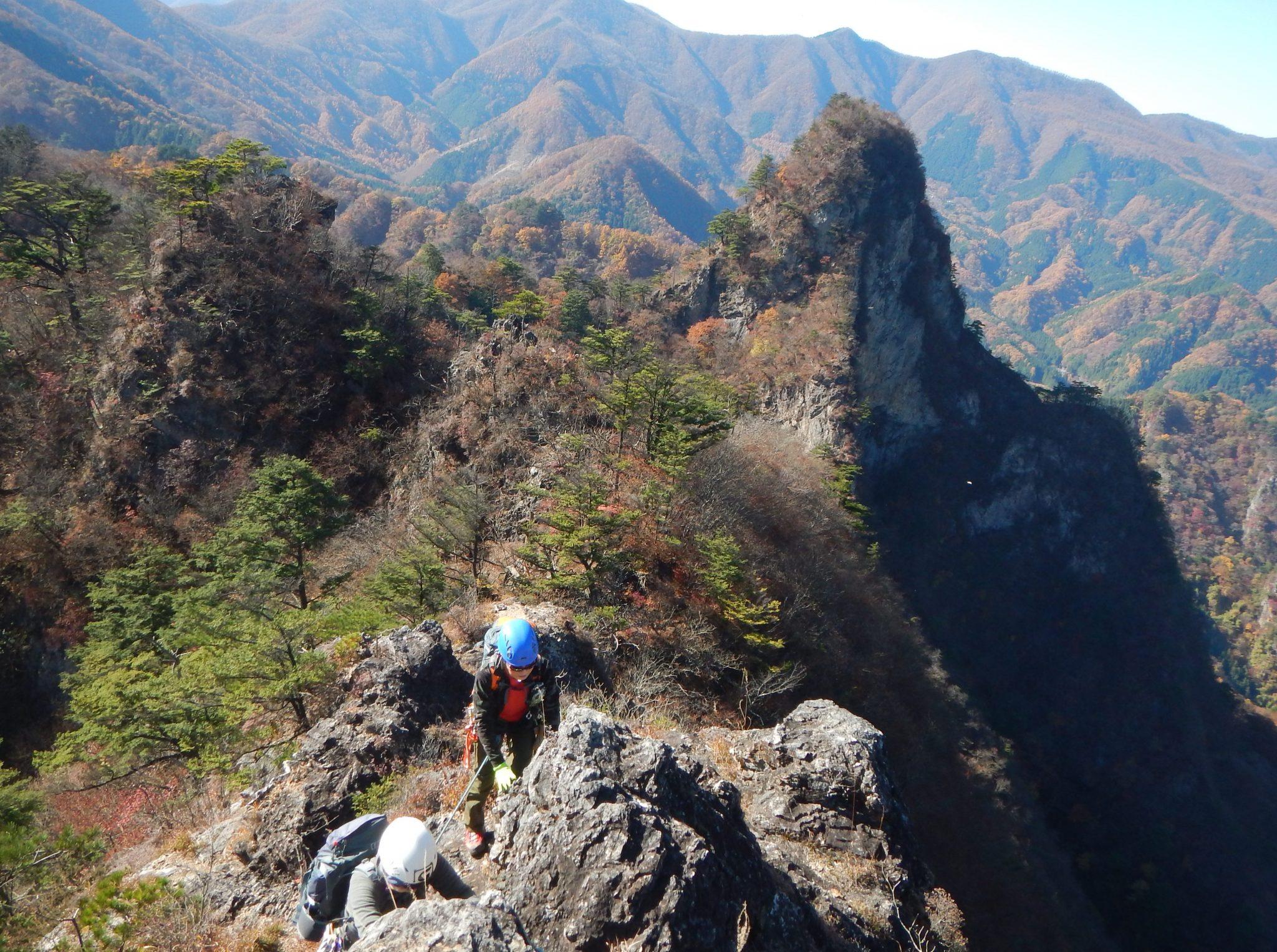 大岩とミドリ岩