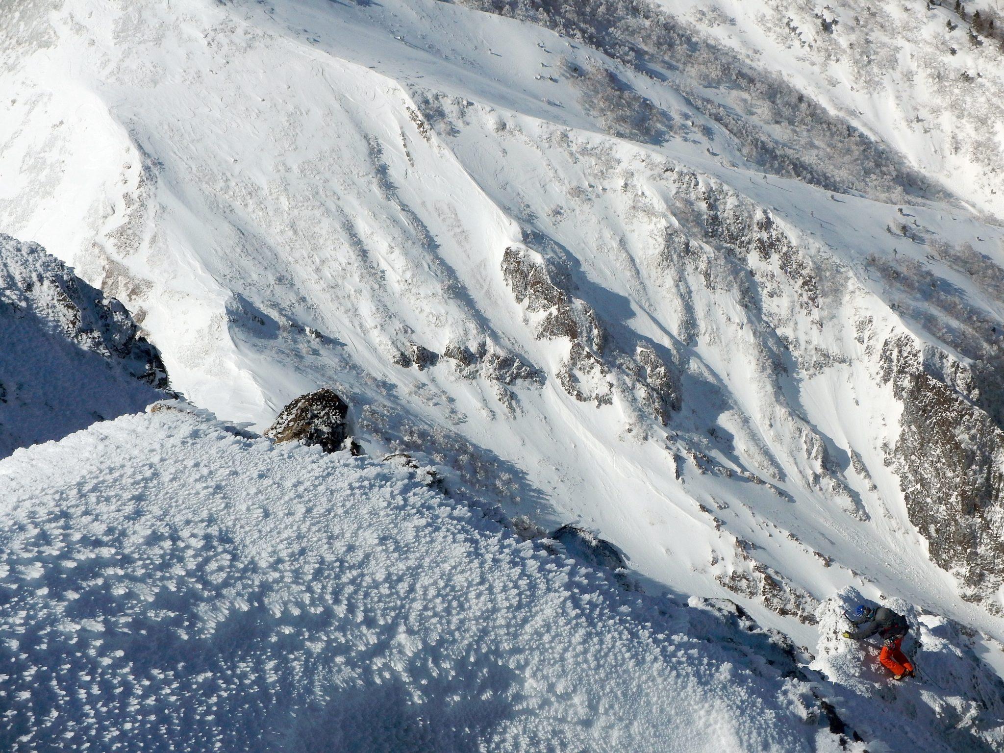 赤岳南峰リッジ~横岳縦走とアイスクライミング