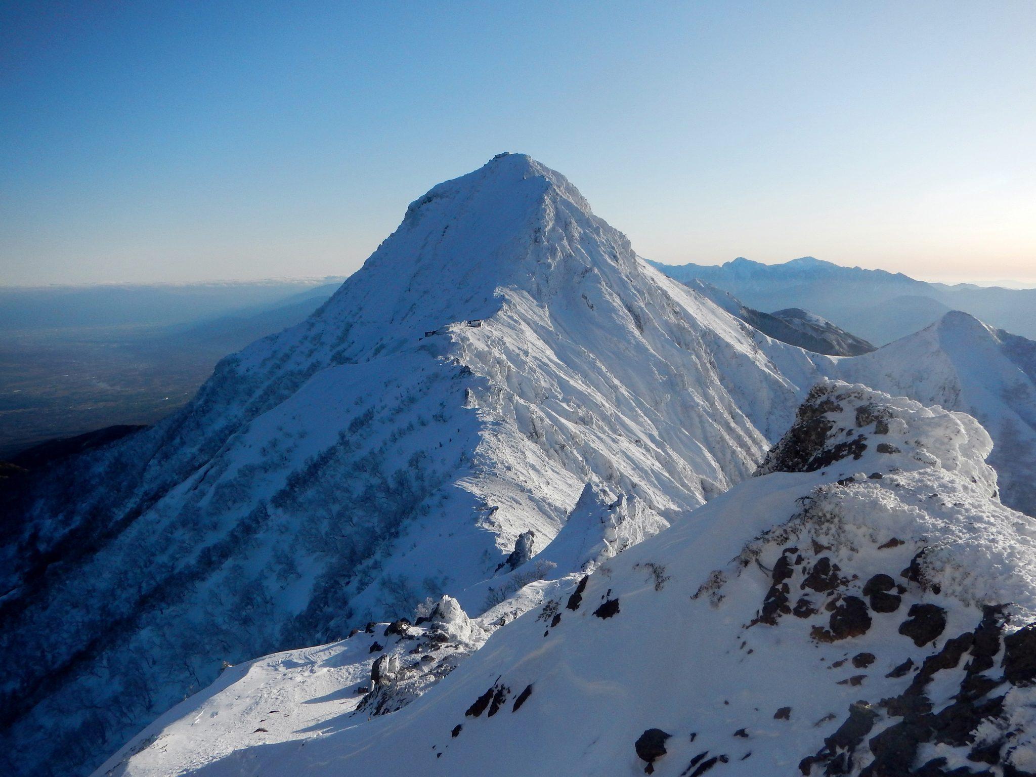 赤岳登頂とアイゼンワーク講習