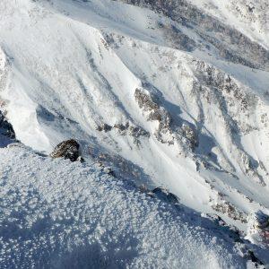 赤岳南峰リッジ