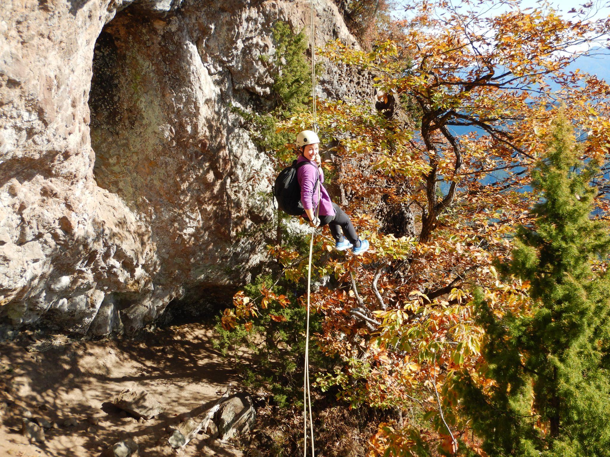 筆頭岩クライミングと星穴岳