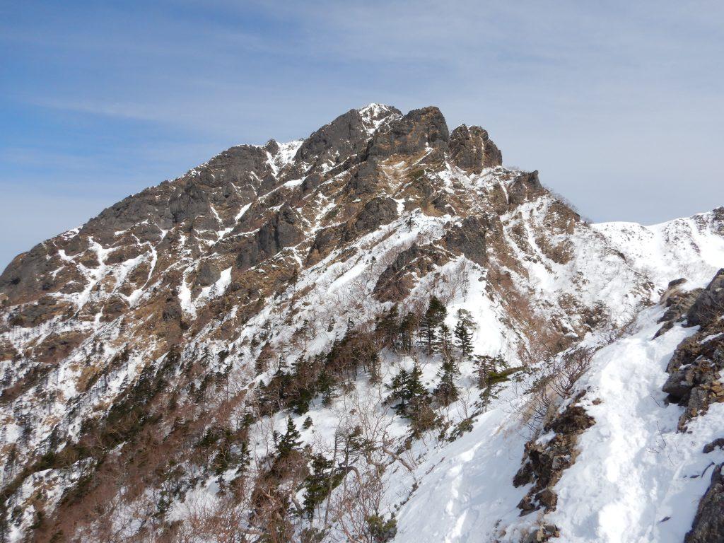 阿弥陀岳南稜
