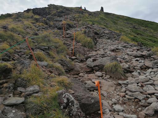 硫黄岳整備