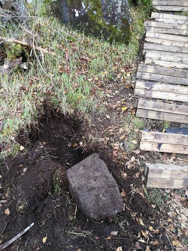 雨池登山道整備