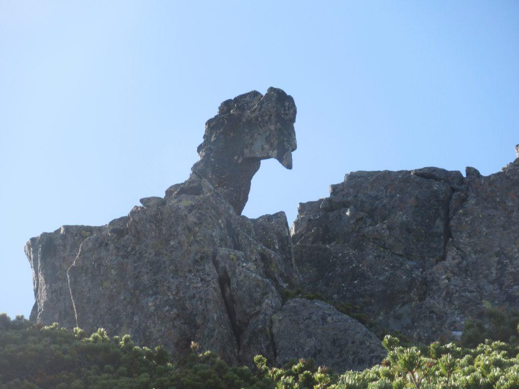 ニワトリ岩