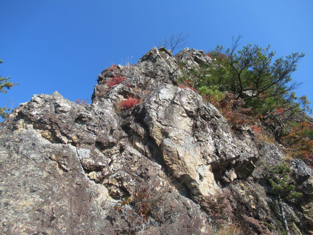 翠岩西尾根