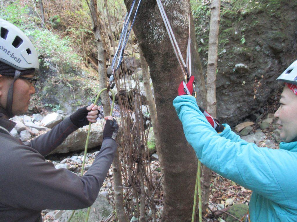 ロープワーク講習会