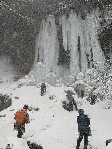 角木場の氷柱
