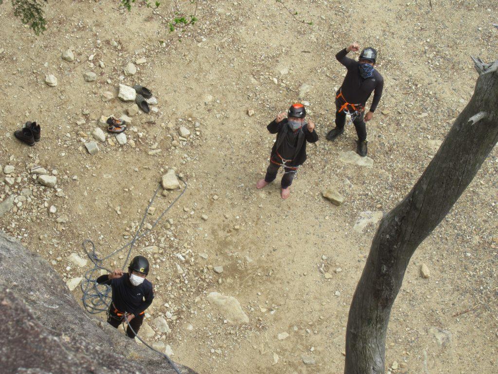 岩登り講習